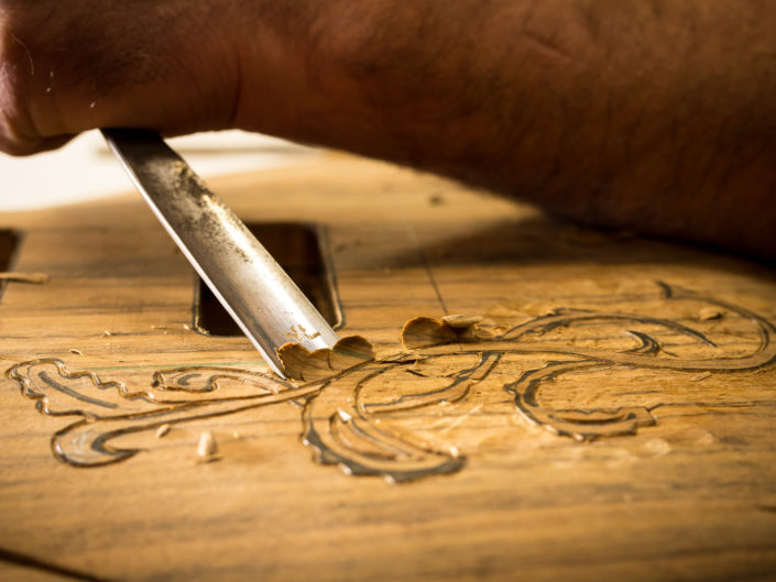 Lutherie – atelier et savoir faire de l'artisanat