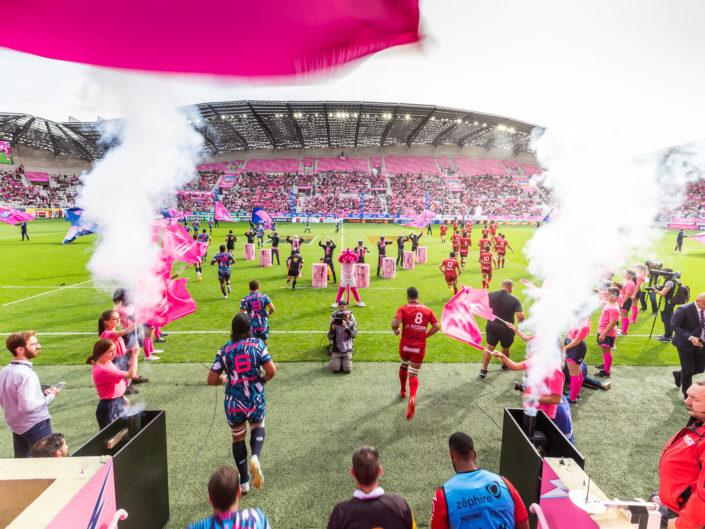 Reportage Stade Français Paris – Racing Club Toulonnais