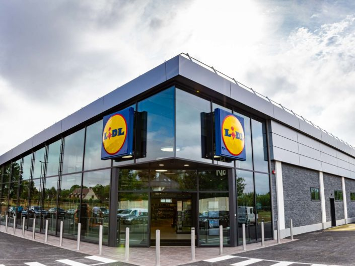 Inauguration Lidl Beauvais